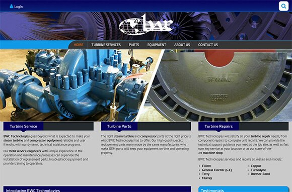 BWC Technologies Website