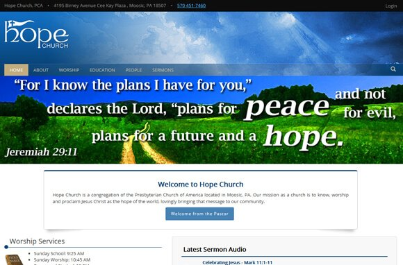 Hope Church Website